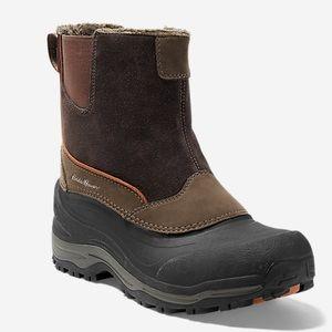 Eddie Bauer Men's Snowfoil Pull-On Boots